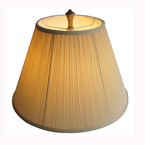 SAC d'épaule Pantalla de Tela de pingjing, lámpara de Noche de Dormitorio, pájaro de pie de Estudio, Tela Amarilla Pantalla,36CM