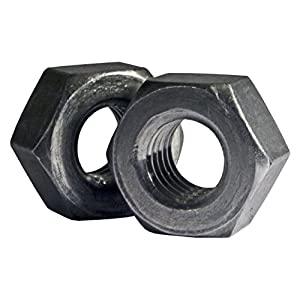 35//64 Thick 15//16 Width Across Flats ASME B18.2.2 9//16-12 Thread Size Steel Heavy Hex Nut Grade 2 Pack of 50 Zinc Plated Finish