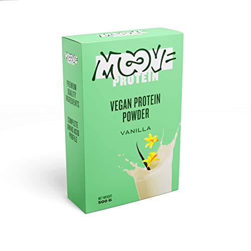 Moove - Protéines en poudre vegan, goût vanille