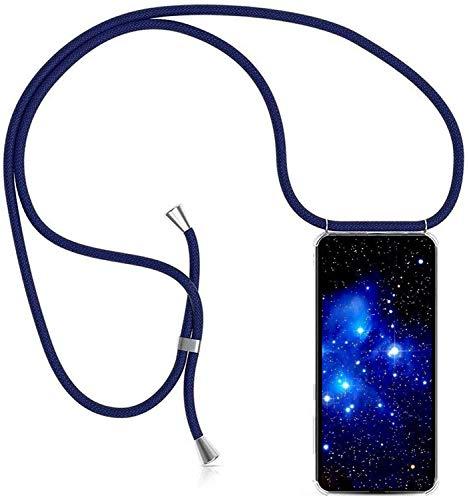 1stfee Compatible con Funda para Samsung Galaxy J7 2016/J710 Funda para teléfono móvil con cordón Transparente TPU Diseño de Protección Anti-Shock Cover