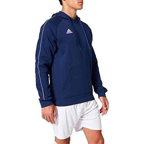 Adidas Football App Generic Hooded Sweat, Uomo, Dark Blue/White, S