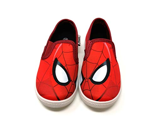 Kinder Hausschuhe Laufschuhe Schuhe Slipon Sneakers Slip On Sneaker Geschenk Spiderman (Numeric_24)