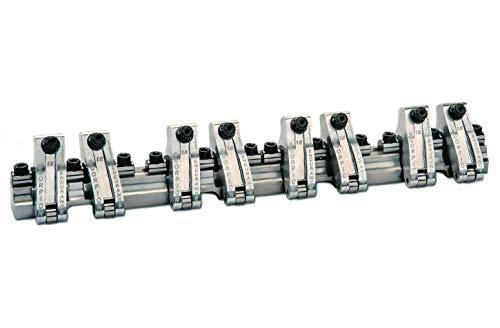 Rocker Arm, Endurance Series, Shaft Mount, 1.65 Ratio, Full Roller, Aluminum, Natural, Small Block Chevy, Kit