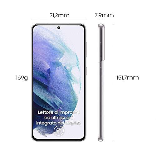 Samsung Smartphone Galaxy S21 5G, Caricatore incluso, Display 6.2