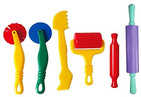 Fashionclubs Ranking TOP19 6pcs Set Plastic Art Clay S Playing sale Dough Tools and