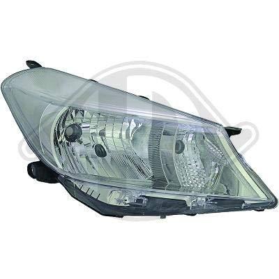 6607083; koplamp links (bestuurderszijde) voor T. Yaris van 2011 tot juni 2014 originele look
