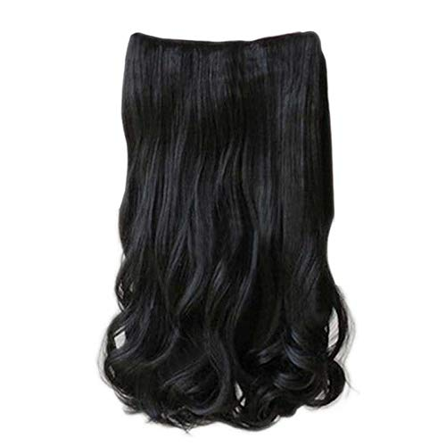 Starall 5 Clips in 60cm Women Ladies Long Curly Wavy on Hair Extensions Full Head Top