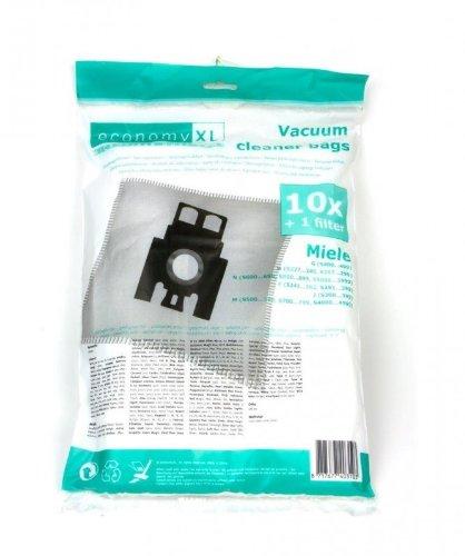 10 Staubsaugerbeutel für Miele S5 EcoLine green