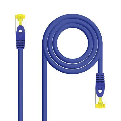 NanoCable 10.20.1902-BL - Cable de Red Ethernet RJ45 LSZH Cat.6A SFTP, AWG26,...