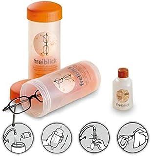 Freiblick brillenbad SET | schudbad incl. 50ml speciale reiniger (gesorteerde kleuren)