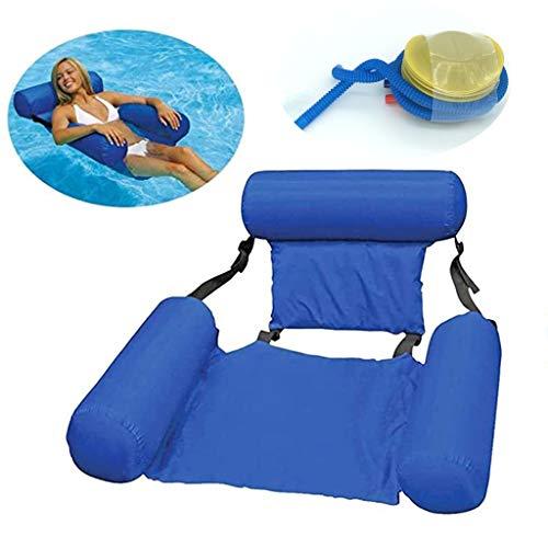 BGH ER-NMBGH Silla de agua multiusos para piscinas de verano, hamaca hinchable para lago, río o piscina