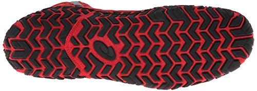 Asics Men's Aggressor 2 Wrestling Shoe,Fire Red/Black/Graphite,9.5 M US