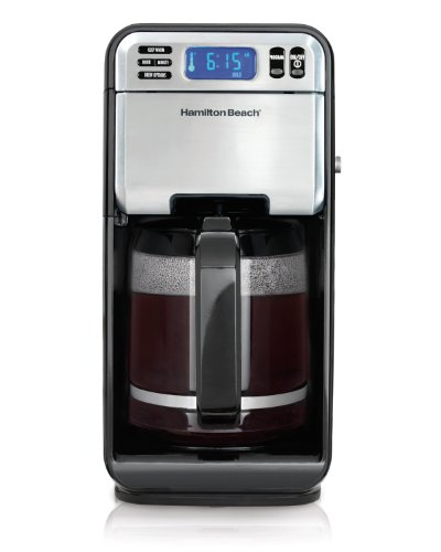 Hamilton Beach 12-Cup Digital Coffee Maker, Stainless Steel (46201) (Discontinued Model)