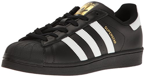 adidas Originals Damen Superstar Turnschuh, Kern schwarz/weiß/Gold metallic, 38.5 EU
