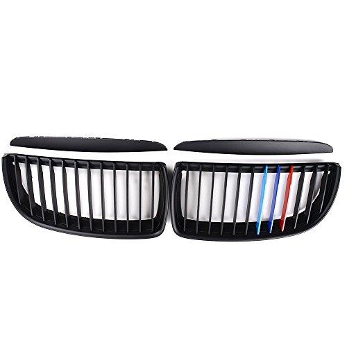 Rejillas Parrilla delantera para niños, color negro mate, color M, E90 E91, 4 puertas, 05-08