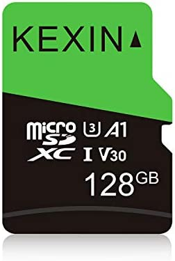 KEXIN 128GB Micro SD Card microSDXC UHS I Memory Card Up to 90MB s 4K Video Record A1 App Performance product image