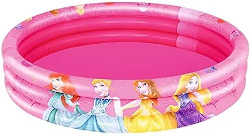 BEST WAY (BES)- Principesse Piscina 122x25cm, Multicolore