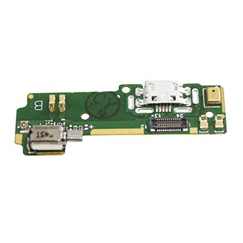 OnlyTech - Modulo Conector de Carga USB de Repuesto para Sony Xperia XA F3111 F3113 con Microfono, Vibrador y Conector de Carga USB