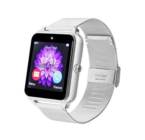 Inovalley Reloj Inteligente Multifunción Android & iOS con Tarjeta SIM Todos los Operadores MC15 Metal