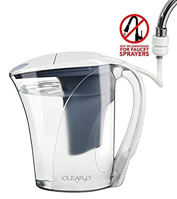 Clear2o CWS100 Water Filter Pitcher, BPA Free