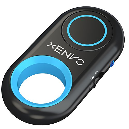Xenvo Shutterbug - Camera Shutter Remote Control - Bluetooth Wireless Selfie Button Clicker - Compatible with iPhone, iPad, Android, Samsung, and Google Pixel Cell Phones, Smartphones and Tablets