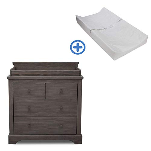 Best Price! Simmons Kids SlumberTime Paloma 4 Drawer Dresser with Changing Top