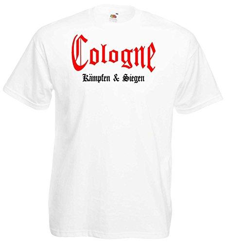 Cologne Herren T-Shirt kämpfen und Siegen Ultras Shirt