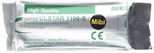 Gima 72751papel videostampante durico compatible para Mitsubishi K61s, kp61s,...