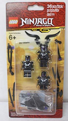 Ninjago Masters of Spinjitzu Lego Villain Minifigure Pack 853866 36 Pieces