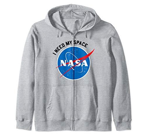 NASA - I Need My Space Zip Hoodie