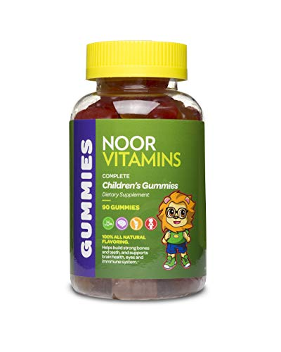 NoorVitamins Gummies Complete - 90 Count - Children's Gummy...