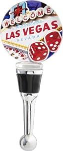LSArts Wine Bottle Stopper, Las Vegas from LS Arts, Inc.