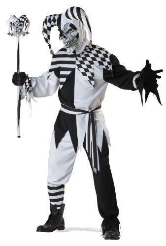 California Costumes Herren Adult-Sized Costume Kostüm für Erwachsene, schwarz/weiß, Large