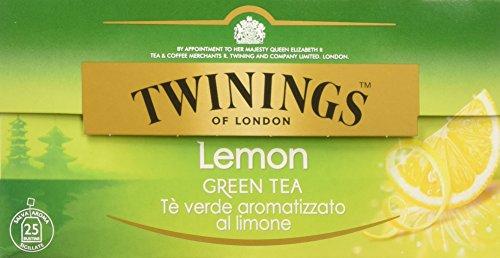 Twinings - Tè Verde al Limone - 6 confezioni da 50 Grammi