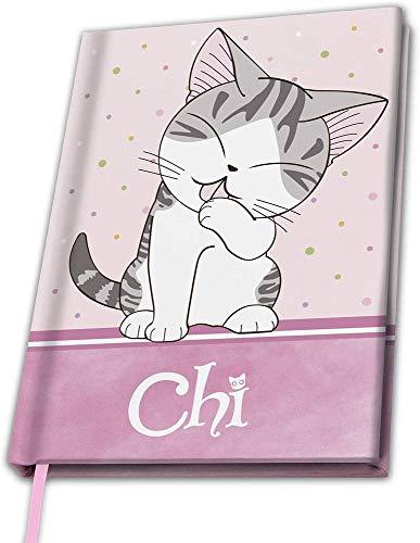 Kleine Katze Chi - Eat Sleep Repeat - Notizbuch | Original Lizensiertes Merchandise