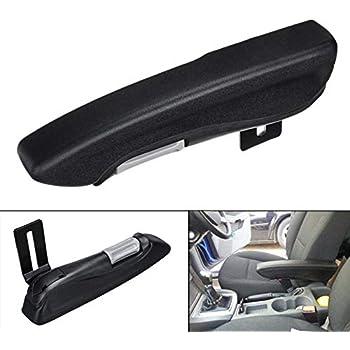 Black universal Armrest Centre Console for car van Spring Adjustable storage UK