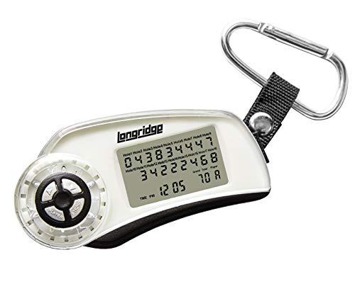 LONGRIDGE Unisex-Adult Digitaler Langraster-Scorer, Silber, One Size
