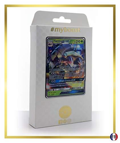 Sarmuraï-GX 17/147 - #myboost X Soleil & Lune 3 Ombres Ardentes - Coffret de 10 Cartes Pokémon Françaises