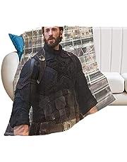 Chris Evans ultra-mjuk mikrofleece överkast filtar för bäddsoffa soffa mysig varm lätt för alla årstider presentdekorationer 3D-tryckt filt för barn vuxna 127 cm x 102 cm