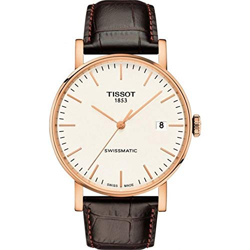 Tissot Herren-Uhren Analog Automatik One Size Leder 87291073
