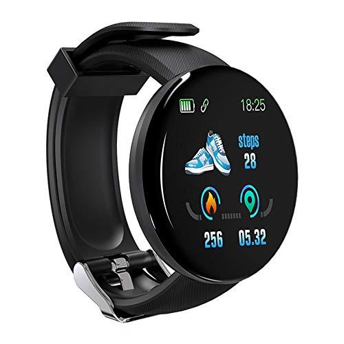 WNFDH slimme horloge 2019 Nieuwe Smart Horloge Mannen Bloeddruk Ronde Bluetooth Vrouwen Horloge Waterdichte Sport Tracker WhatsApp Voor Android Ios