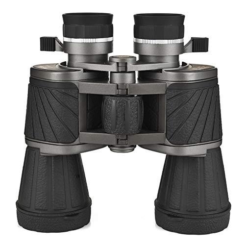 Zoom 10x50 Prismáticos Compactos Binoculares Impermeables de Alta Potencia con Kit Esencial para Adultos Niños Observación de Aves