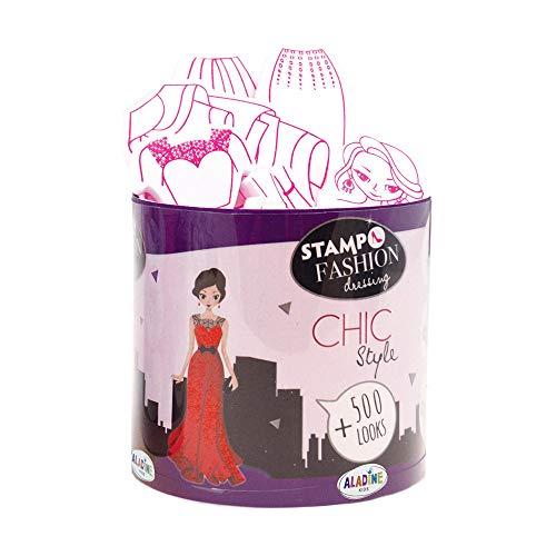 Aladine- STAMPO Fashion Dressing City Chic, 05454