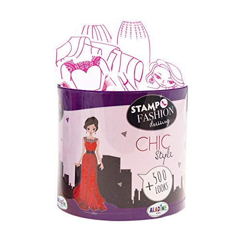 Aladine- STAMPO Fashion Dressing City Chic, 05454