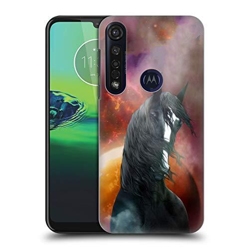 Officiële Simone Gatterwe Fantasy Shire Paarden Hard Back Case Compatibel voor Motorola Moto G8 Plus
