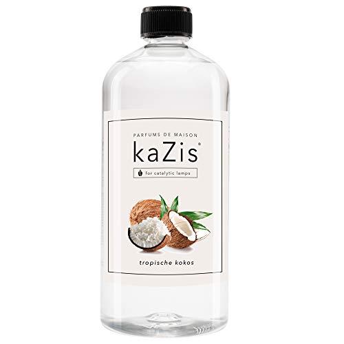 KAZIS ® Tropischer Kokos I Für alle katalytischen Lampen I 1 Liter I Raumduft