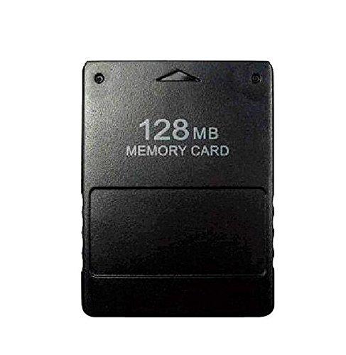 Nicebuty Scheda di Memoria ad alta velocità da 128 MB perla console Playstation 2di Sony