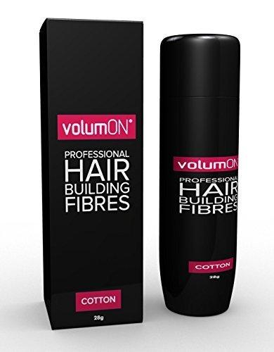 VolumON Professional Hair Building Fibres - Anti-chute - Kératine - 28 g - Jusqu'à 30 utilisations - Choisissez parmi 8 nuances de couleurs