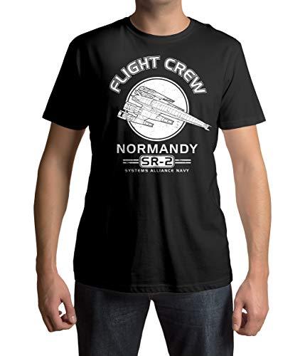 Mass Effect - Normandy T-Shirt Größe Men X-Large
