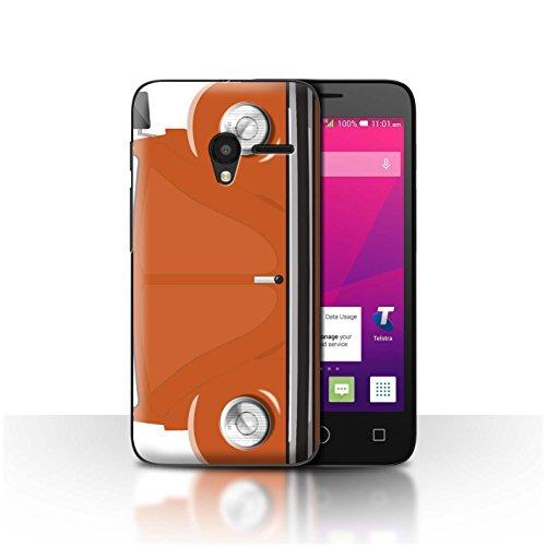 STUFF4Phone Case/Cover/Skin/alcpix45/Retro Beetle Collection arancione brillante